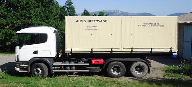 camion nettoyage